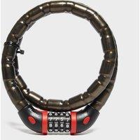 Masterlock 4 Digit Combination Lock and Bracket, Black