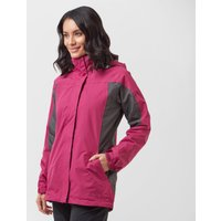 Peter Storm Womens Lakeside 3 in 1 Jacket, Grey