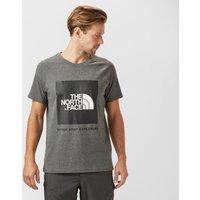 The North Face Mens Redbox T-Shirt, Dark Grey