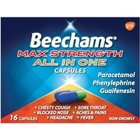 Beechams Ultra All In One Capsules 16s