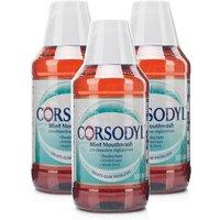 Corsodyl Mouthwash Mint Triple Pack