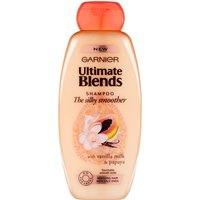 Garnier Ultimate Blends Silky Smoother Shampoo 400ml
