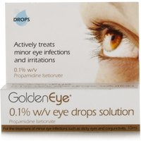 Golden Eye 0.1% w/v Eye Drops Solution