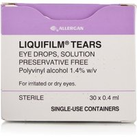 Liquifilm Tears Pre Filled 0.4ml
