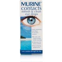 Murine Refresh & Clean Contact Lens Eye Drops