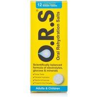 ORS Rehydration Salts Lemon