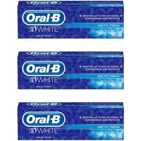 Oral B 3D Whitening Brilliance Toothpaste Triple Pack