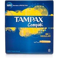 Tampax Compak Regular 8 Pack