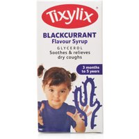 Tixylix Blackcurrant Syrup 100ml