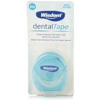 Wisdom Mint Waxed Dental Tape