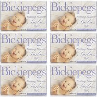 Bickiepegs Teething Biscuits for Babies 6 Pack