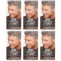 Just for Men Touch of Grey - Dark Brown Grey 6 Pack