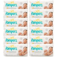 Pampers Sensitive Baby Wipes Gigapack
