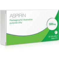 Aspirin Dispersible 300mg Tablets
