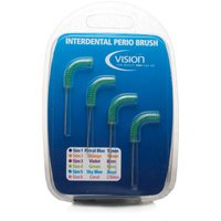 Vision Interdental Perio Brushes 5mm Green
