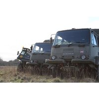 4x4 Army Truck Rough Terrain Driving Experience For One