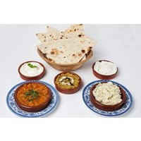 Three Course Dinner with a Glass of Wine each at Anar Persian Kitchen
