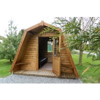 Overnight Glamping Break At Greenway Touring And Glamping Park