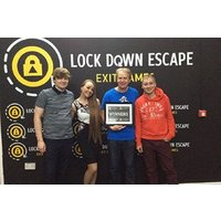 Death Row or The Lost Soul Escape Exit Game for Two Adults and Two Children