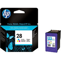 HP 28 ( C8728ae ) Original Colour Ink Cartridge