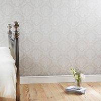 dorma aveline natural damask wallpaper natural brown
