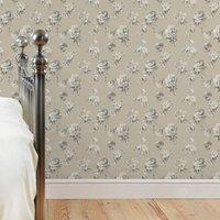 dorma harriet wallpaper grey
