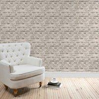 brick grey wallpaper grey
