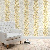 anya ochre wallpaper ochre (yellow)
