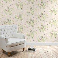 secret garden wallpaper green