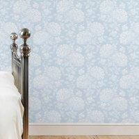 dorma blue hydrangea wallpaper blue