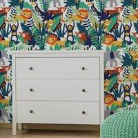 jungle wallpaper multi