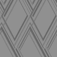 5a fifth avenue grey geo wallpaper grey