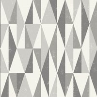grey triangles wallpaper grey