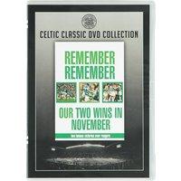 Celtic Remember Remember DVD