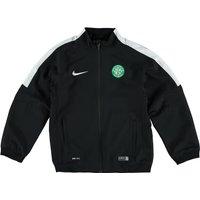 Celtic Squad Sideline Woven Jacket - Kids Black