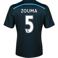 Chelsea Third Shirt 2014/15 with ZOUMA 5 printing