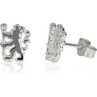 Chelsea Lion Stud Earrings Pair - Sterling Silver