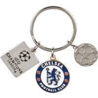 Chelsea UEFA Champions League 3 Piece Keyring