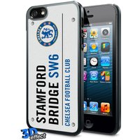 Chelsea 3D Street Sign iPhone 5/5S Hard Case