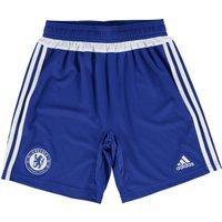 Chelsea Training Shorts - Kids Blue