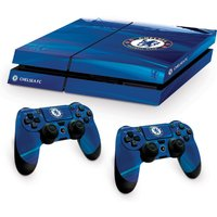 Chelsea PS4 Console & Controller Skin Set