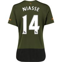Everton 3rd Shirt 2015/16 - Womens with Niasse 14 printing