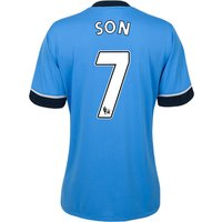 Tottenham Hotspur Away Shirt 2015/16 - Womens Sky Blue with Son 7 printing