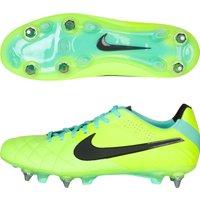 Nike Tiempo Legend Iv Soft Ground-Pro Football Boots - Volt/Black/Green Glow Lt Green