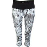 Nike Epic Run Printed Capri Womens White