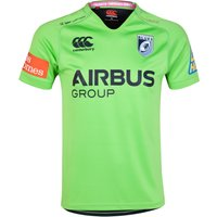 Cardiff Blues Cardiff Blues Third Pro S/S Rugby Shirt 14/15 Green