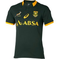 South Africa Springboks Rugby 2015 Home Shirt Green