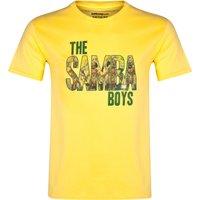Brazil The Samba Boys T-Shirt Yellow