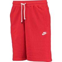 Nike AW77 Fleece Shorts Red