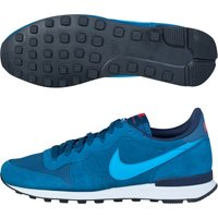 Nike Internationalist Leather Trainers Blue